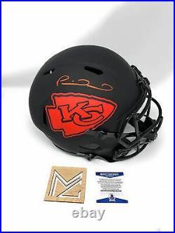 Patrick Mahomes Kansas City Chiefs Signed Autograph Rare ECLIPSE Speed Full Size