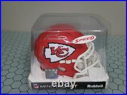 Patrick Mahomes Kansas City Chiefs Signed Autographed NFL Mini Helmet COA