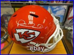 Patrick Mahomes Kansas City Chiefs Signed Full Size Replica Helmet Beckett COA
