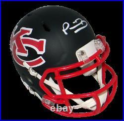 Patrick Mahomes Signed Autographed Kansas City Chiefs Amp Speed Mini Helmet Jsa