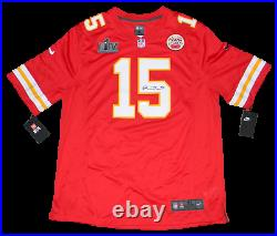 Patrick Mahomes Signed Kansas City Chiefs #15 Nike Super Bowl LIV Jersey Jsa