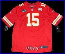 Patrick Mahomes Signed Kansas City Chiefs #15 Super Bowl LIV Nike Jersey Jsa