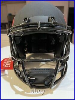 Patrick Mahomes Signed Kansas City Chiefs Eclipse Authentic Fs Helmet With Jsa