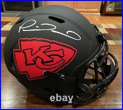 Patrick Mahomes Signed Kansas City Chiefs Eclipse Full Size Helmet Beckett 1
