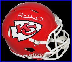 Patrick Mahomes Signed Kansas City Chiefs Full Size Authentic Speed Helmet Jsa