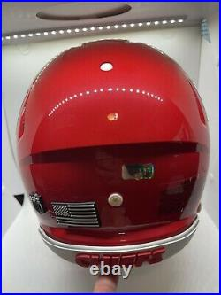 Patrick Mahomes Signed Kansas City Chiefs Fullsize Authentic Speed Helmet Radtke