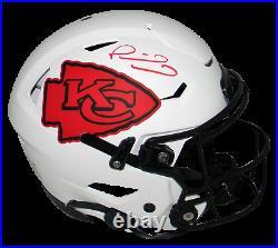 Patrick Mahomes Signed Kansas City Chiefs Lunar Authentic Speedflex Helmet Bas