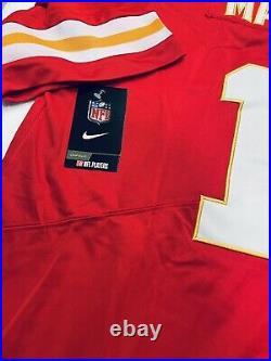 Patrick Mahomes Signed Kansas City Chiefs Nike NFL Red Home Jersey COA