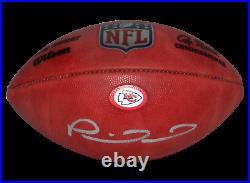 Patrick Mahomes Signed Kansas City Chiefs Official NFL Duke Wilson Football Bas
