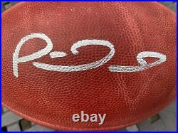 Patrick Mahomes Signed Kansas City Chiefs Official Super Bowl LIV Football Bas