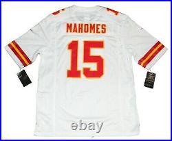 Patrick Mahomes Signed Kansas City Chiefs White Nike Super Bowl LIV Jersey Jsa