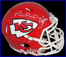 Patrick Mahomes Tyreek Hill Signed Kansas City Chiefs Speed Authentic Helmet Jsa