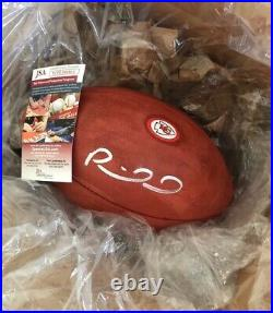 Patrick Mahomes signed authentic Kansas City Chiefs team-issued football