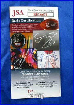 Salvador Perez / Autographed Kansas City Royals Custom Baseball Jersey / Jsa
