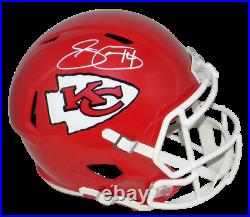 Sammy Watkins Autographed Signed Kansas City Chiefs Full Size Speed Helmet Jsa