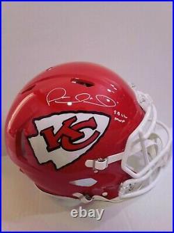 Signed Patrick Mahomes Autographed Kansas City Chiefs FS Authentic Helmet