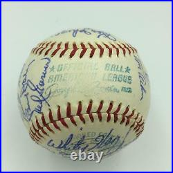 The Finest 1960 Kansas City Athletics A's Team Signed AL Baseball With JSA COA
