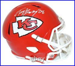 Tony Gonzalez Autographed Kansas City Chiefs Speed Replica Helmet BAS 20613