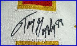 Tony Gonzalez / Hof'19 / Autographed Kansas City Chiefs Red Custom Jersey / Coa