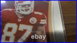 Travis Kelce 2013 Select Rookie Auto /499 SP Kansas City Chiefs TE card #242