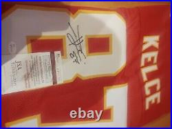 Travis Kelce #87 Signed Jersey Kansas City Chiefs JSA Certified