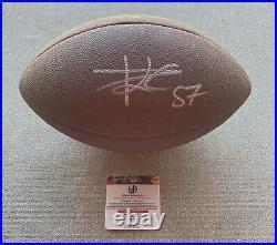 Travis Kelce Autographed Signed Football Kansas City Chiefs COA GV 921711