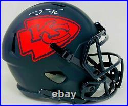 Tyrann Mathieu Autographed Kansas City Chiefs Eclipse Speed F/S Replica Helme