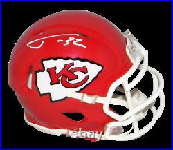 Tyrann Mathieu Autographed Signed Kansas City Chiefs Speed Mini Helmet Jsa