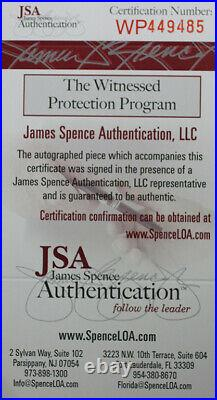 Tyreek Hill Autographed & Framed Red Kansas City Chiefs Auto JSA COA D1-L