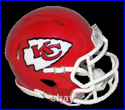 Tyreek Hill Autographed Kansas City Chiefs Super Bowl LIV Speed Mini Helmet Jsa