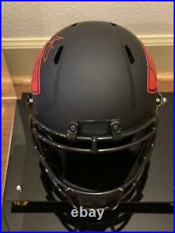 Tyreek Hill Signed Kansas City Chiefs Eclipse Full-Size Replica Football Helmet