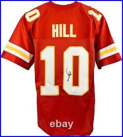 Tyreek Hill autographed signed jersey NFL Kansas City Chiefs JSA Witness