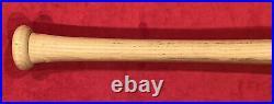 Vintage 1980's Frank White Kansas City Royals Signed Game Used Baseball Bat Old